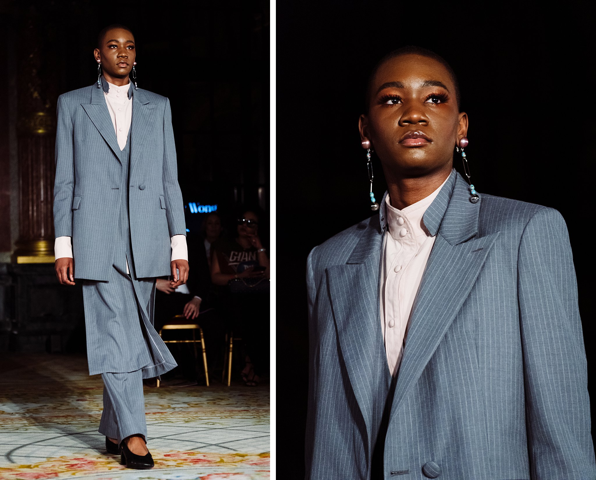 Rickyy Wong - Runway Photography from the Oxford Fashion Studios show at Paris Fashion Week, Autumn-Winter 2020
