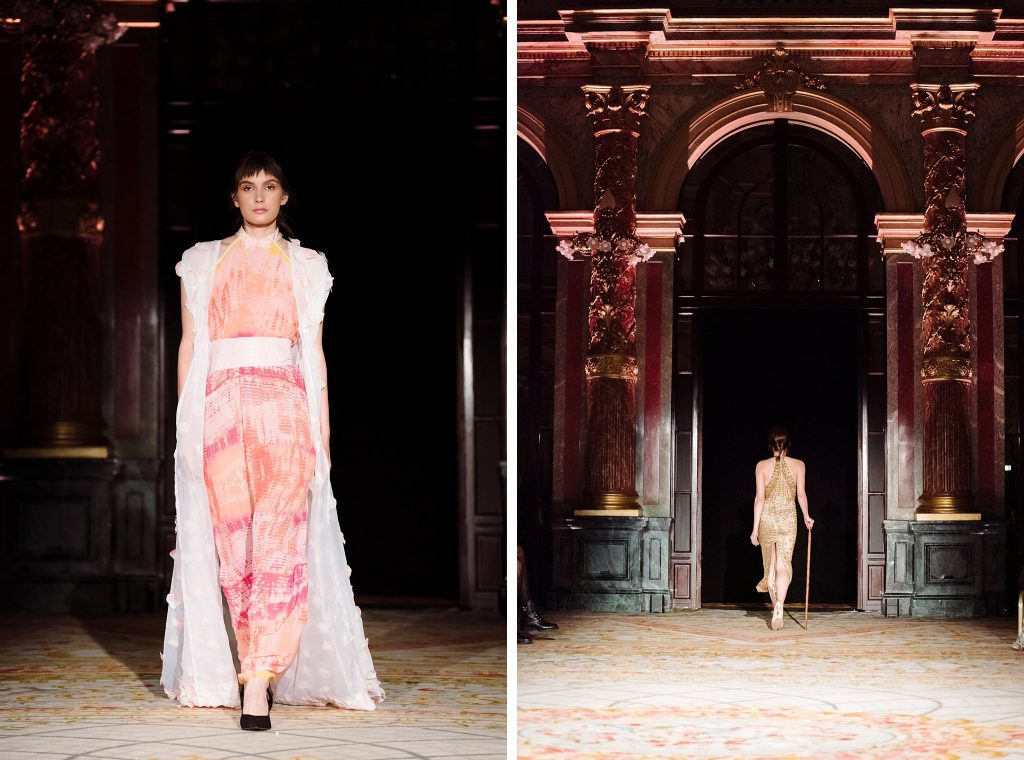 how to shoot a fashion show examples: full body runway photography at paris fashion week ss19 for oxford fashion studios