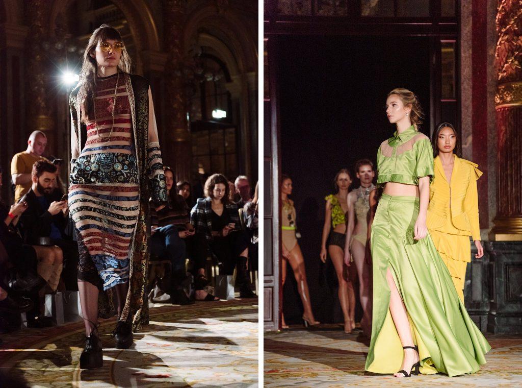 runway photography at paris fashion week aw2020
